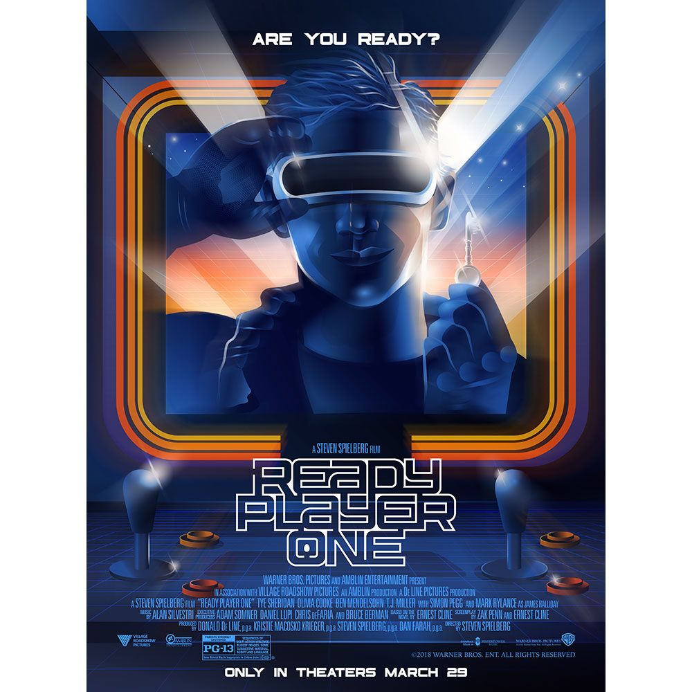 get a free poster when you buy ready player one tickets from
